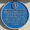 Smithfield Ironworks blue plaque cropped 01.jpg