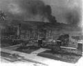 Smoldering ruins of African American's homes following race riots - Tulsa Okla 1921.jpg