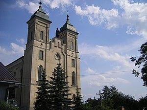 Sokołów Małopolski - Church in Sokołów Małopolski