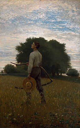 Song of the Lark Winslow Homer 1876