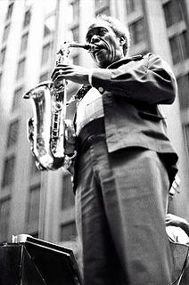 Sonny Stitt American jazz saxophonist