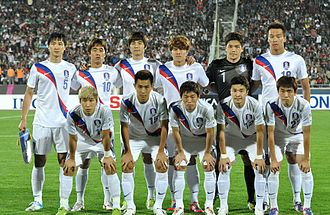 South Korea national football team - South Korea national football team – October 2012