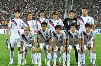 South Korea national football team - South Korea national football team – October 2012