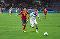 Spain - Chile - 10-09-2013 - Geneva - Pedro Rodriguez and Mauricio Isla.jpg