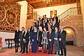 Spain wikipedians meeting after Princess of Asturias Awards ceremony.JPG