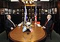 Special Envoy Mitchell With Israeli Defense Minister Ehud Barak (4454370158).jpg