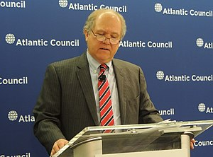 Special Inspector General John F. Sopko Speaking at the Atlantic Council (13314530964).jpg