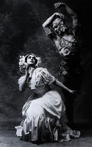 Le Spectre de la rose - Karsavina and Nijinsky, 1911