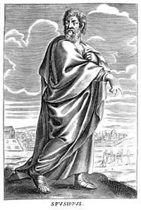 Speusippus en Tomaso Stanley Historio de Philosophy.jpg