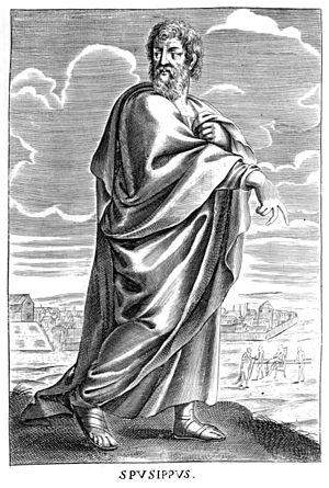 Speusippus - Speusippus, 17th-century engraving