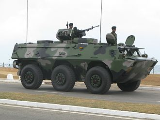 Sri Lanka Army - Sri Lanka Army WZ551 APC