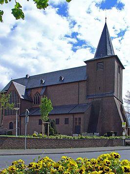 De St. Martinskirche in Zyfflich