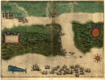 St. Augustine- Part (Below Thirty Degrees Latitude) is on the Mainland of Florida, but the Sea Coast is More Low-Lying and thus Torn Away and Rendered Island-Like WDL202.png