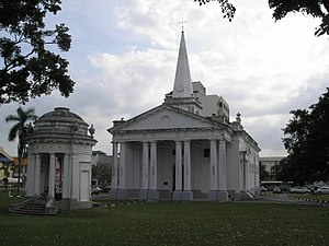St. George's Church, Penang - Image: St. George's Church Penang Dec 2006 005