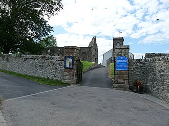 Whithorn Priory - Image: St. Ninian's Priory, from Bruce Street, Whitehorn