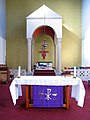 St Anselm, Kennington Cross, London SE11 - Sanctuary - geograph.org.uk - 1763370.jpg