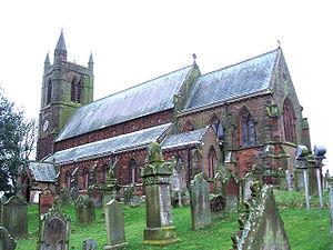 Aspatria - Image: St Kentigern's Church, Aspatria