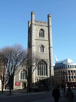 St Laurence's Church, Reading - Image: St Laurence, Friar Street, Reading