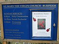 St Mary's church notice board - geograph.org.uk - 1025523.jpg