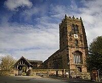 St Mary and All Saints Church, Great Budworth exterior.jpg