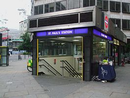 St Paul's stn entrance2.JPG