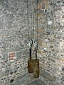 St Peter's church,High Street, Marlborough - clock weights - geograph.org.uk - 460586.jpg