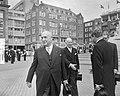 Staatsbezoek van Oostenrijkse Bondspresident Dr Adolf Schärf Kranslegging bij , Bestanddeelnr 912-4817.jpg