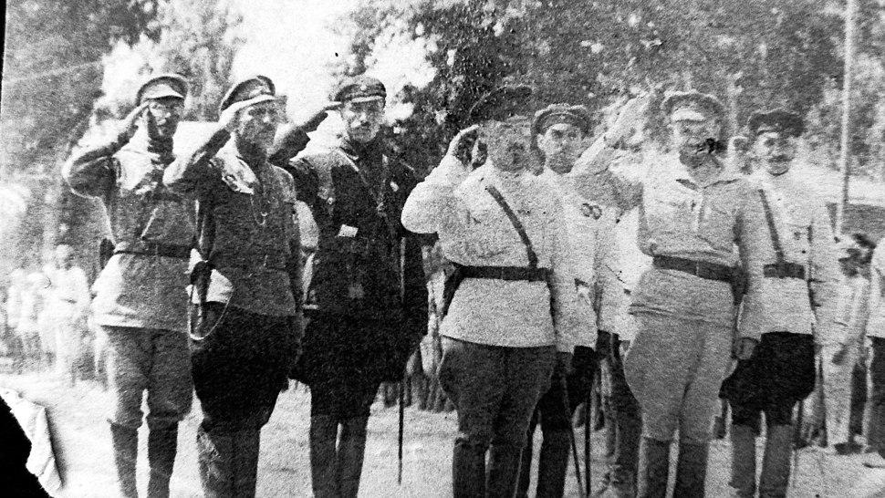 Stab 4 armii zapadnij front 1920 g