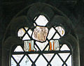 Stained glass fragments in Eastwell church - geograph.org.uk - 675726.jpg