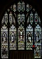 Stained glass window, St Mary's church, Dymock (20165389499).jpg