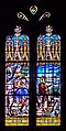 Stained glass window of the Collegiate Church of Our Lady of Quezac 05.jpg