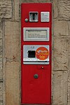 Stamp vending machine, Shipley Sorting Office - geograph.org.uk - 1041536.jpg