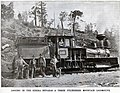 Standard gauge Shay locomotive, built on 18 May 1891 for More & Smith Lumber of Sanger, California, later used as No 1 for Hume-Bennett Lumber Co. at Sanger (Scientific American, 19 Dec 1896).jpg