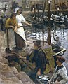 Stanhope Forbes - The Old Pier Steps.jpg
