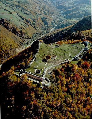 Grand Principality of Serbia - Ruins of Ras Fortress, a capital of Grand Principality; today UNESCO World Heritage Site