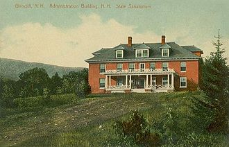 Warren, New Hampshire - Image: State Sanatorium, Glencliff, NH