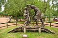 Statue of Robin Hood and Little John in Sherwood Forest (9465).jpg