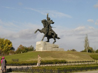 Statue of Suvorov in Tiraspol