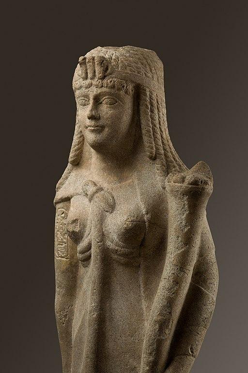 Statue of a Ptolemaic Queen, perhaps Cleopatra VII MET 89.2.660 EGDP013679