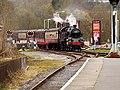 Steam Train Approaching Rawtenstall (geograph 4910400).jpg