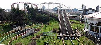 Steeplechase (Pleasure Beach Blackpool) - Image: Steeplechase (Pleasure Beach, Blackpool)