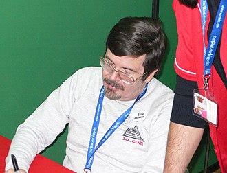 Steve Jackson (American game designer) - Image: Steve jackson at lucca games 2006