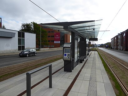 How to get to Stjernepladsen with public transit - About the place