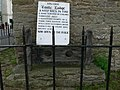 Stocks outside Castle Lodge, in Ludlow - geograph.org.uk - 826667.jpg