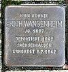 Stolperstein Berliner Str 20 (Hermd) Erich Wangenheim.jpg