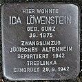 Stolperstein Göppingen, Ida Löwenstein.jpg