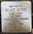 Stolperstein Kleve Große Straße 14 Renate Meyer.jpg