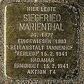 Stolperstein Remscheid Tannenhof Siegfried Marienthal.jpg