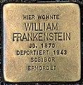 Stolperstein Solingen Elisenstr. 10 William Frankenstein.jpg