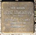 Stolperstein Stierstr 20 (Fried) Heinz Löwenthal.jpg